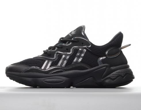 Adidas Originals Ozweego Black Iridescent Cloud White FV9653