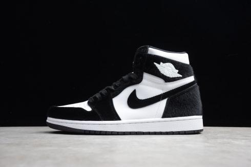 Nike Air Jordan 1 Retro High OG Twist Panda White Black Mens ...