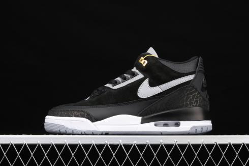Nike Air Jordan 3 Retro Tinker SP Black Cement Grey Metallic Gold CK4348-007