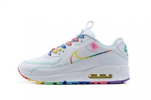 Nike Air Max 90 Worldwide Pack White Multi Color - ReactRun