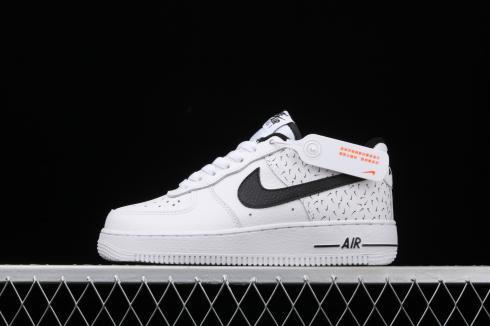 Nike Air Force 1 Low Swooshfetti White Black DC9189-100 - ReactRun