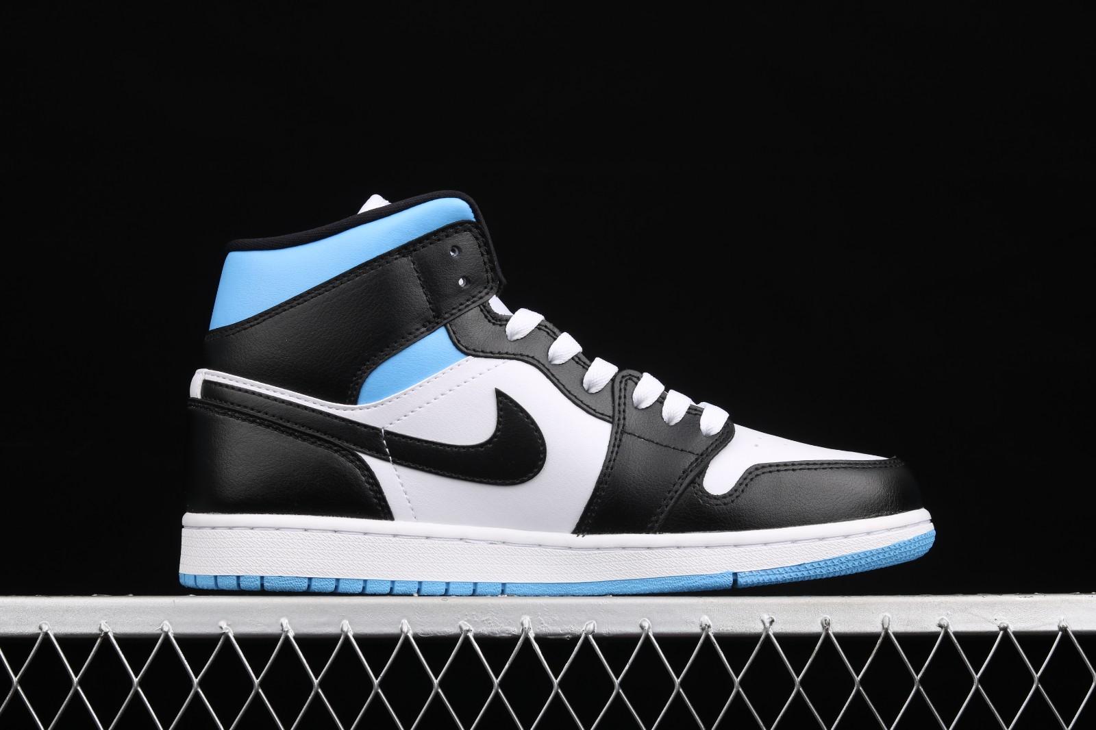 Wmns Air Jordan 1 Mid 'University Blue'