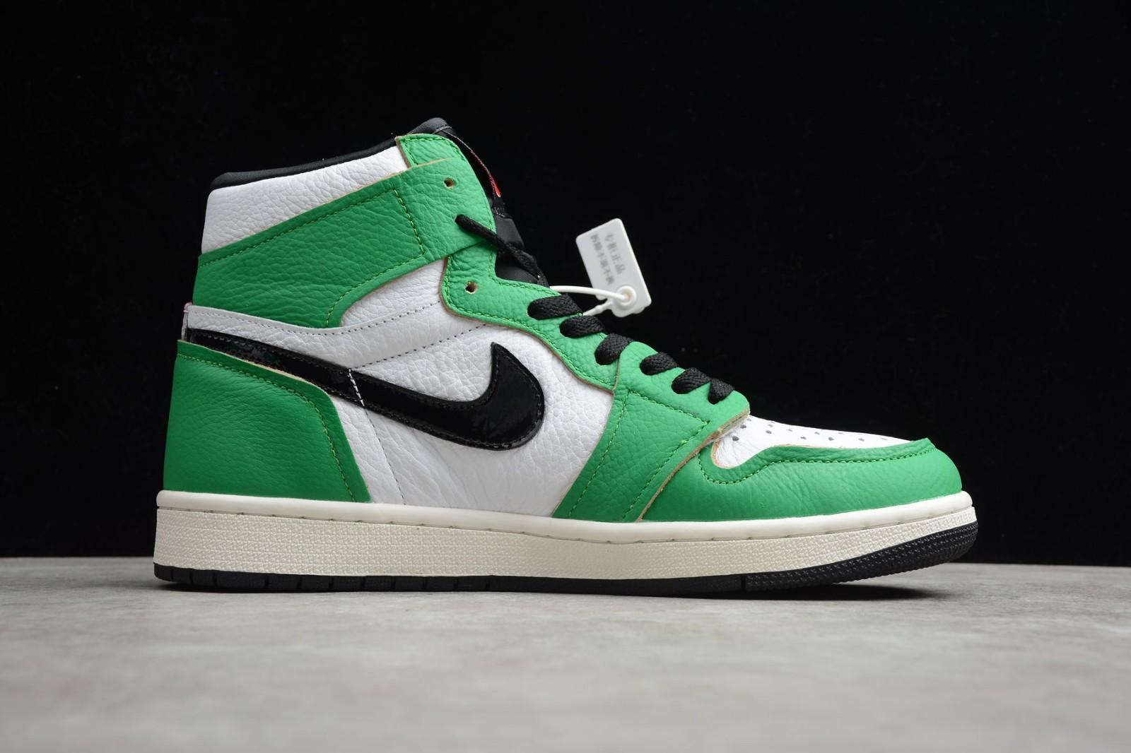 Air Jordan 1 Retro High OG Womens Lucky Green   Jordan
