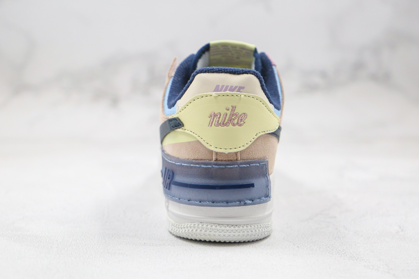 Wmns Nike Air Force 1 Shadow White Hydrogen Blue Purple Ci0919 121 Reactrun Nike air force one 1 low 07 white glitter silver. wmns nike air force 1 shadow white